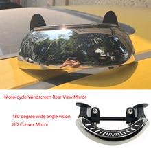 Motorrad Windschutz 180 + Grad Blind Spot Spiegel Weitwinkel Rückspiegel Sicherheit Hilfs Rückansicht Spiegel für BMW HONDA
