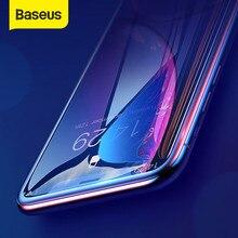 Baseus 2 pièces 0.23mm couverture complète verre trempé pour iPhone 12 Pro Max 12 protecteur d'écran mince verre de protection pour iPhone XR