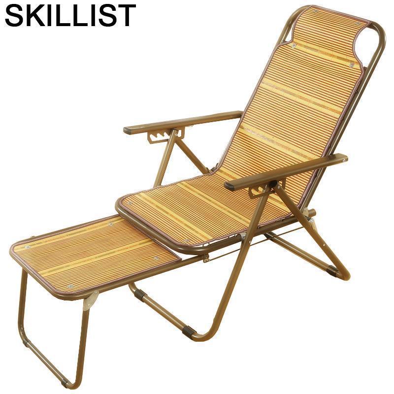 Poltrona Poltrone Da Salotto Floor Sillon Reclinable Sillones Moderno Para Sala Folding Bed Bamboo Fauteuil Salon Recliner Chair