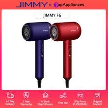 EU/RU в наличии, Jimmy F6 фен 1800 Вт, увлажнитель с нанотехнологией, ультразвуковая технология быстрой сушки для предотвращения потери влаги, звезс...
