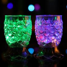 цена на LED Flashing Color Change Light Up Water Activated Beer Drink Goblet Cup Mug