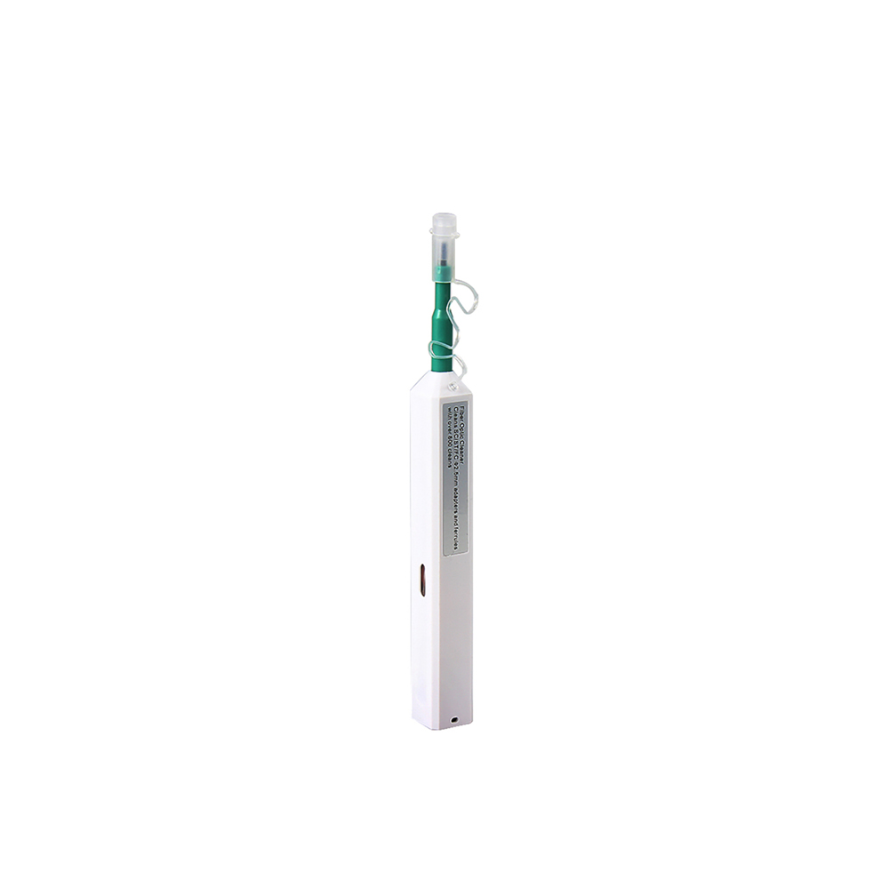 High Quality for LC/SC/FC/ST Fiber Optic Cleaner Connector One Click Tool 1.25mm/2.5mm Cleaning Pen 800+ Cleans