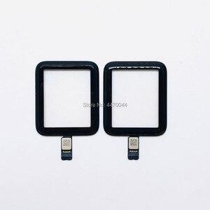 Image 3 - 100% חדש לגמרי Digitizer מסך פנל עבור אפל שעון סדרת 2 3 38mm 42mm סדרת 4 5 40mm 44mm פגום קדמי החלפת זכוכית