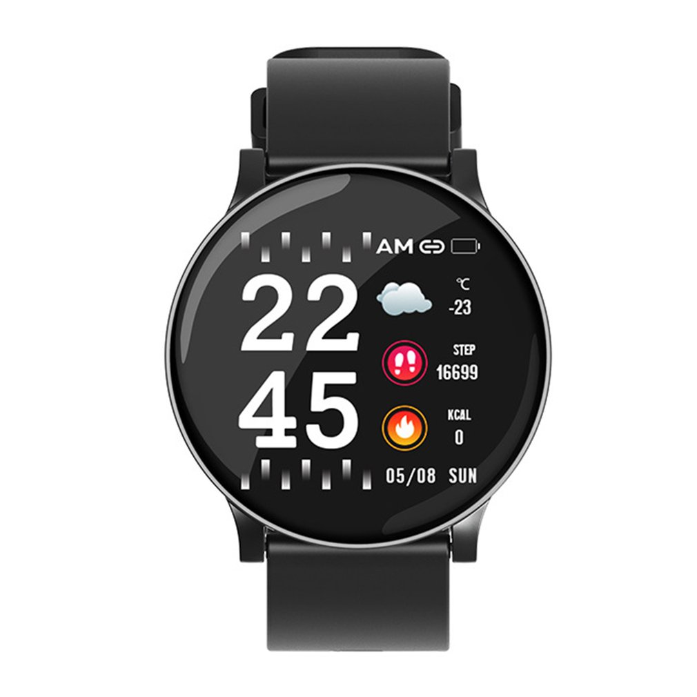 Fitness-Bracelet Smart-Watch Wrist-Blood-Pressure Digital W8 Forecast Call-Reminder Men