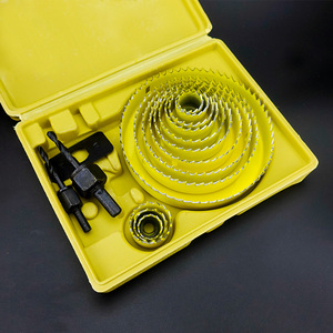 Image 2 - Ensemble de 13 cloches pour le perçage de trous, de 19 à 127mm, profondeur: 20mm, pour le perçage du PVC, du bois, des plaques de platre
