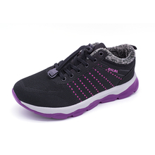 2019 Winter Running Shoes For Women Yeezys Air 350 Sneakers Fur Lining Sport