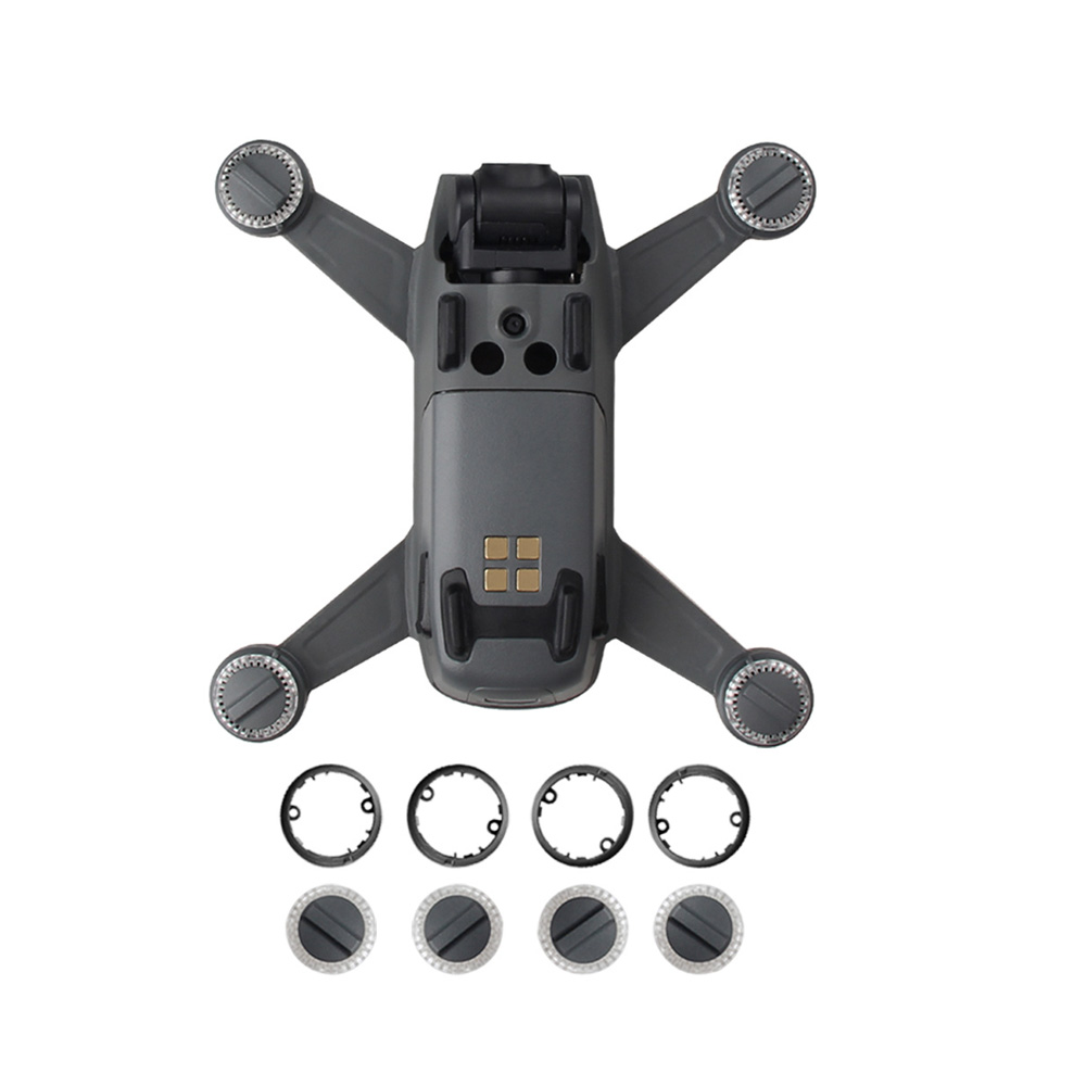 For DJI Spark Part Genuine- LED Shade Lights Lamp Cover  amp  Lamp Cover Plate Base for Spark Lamp Protection Component Replacement