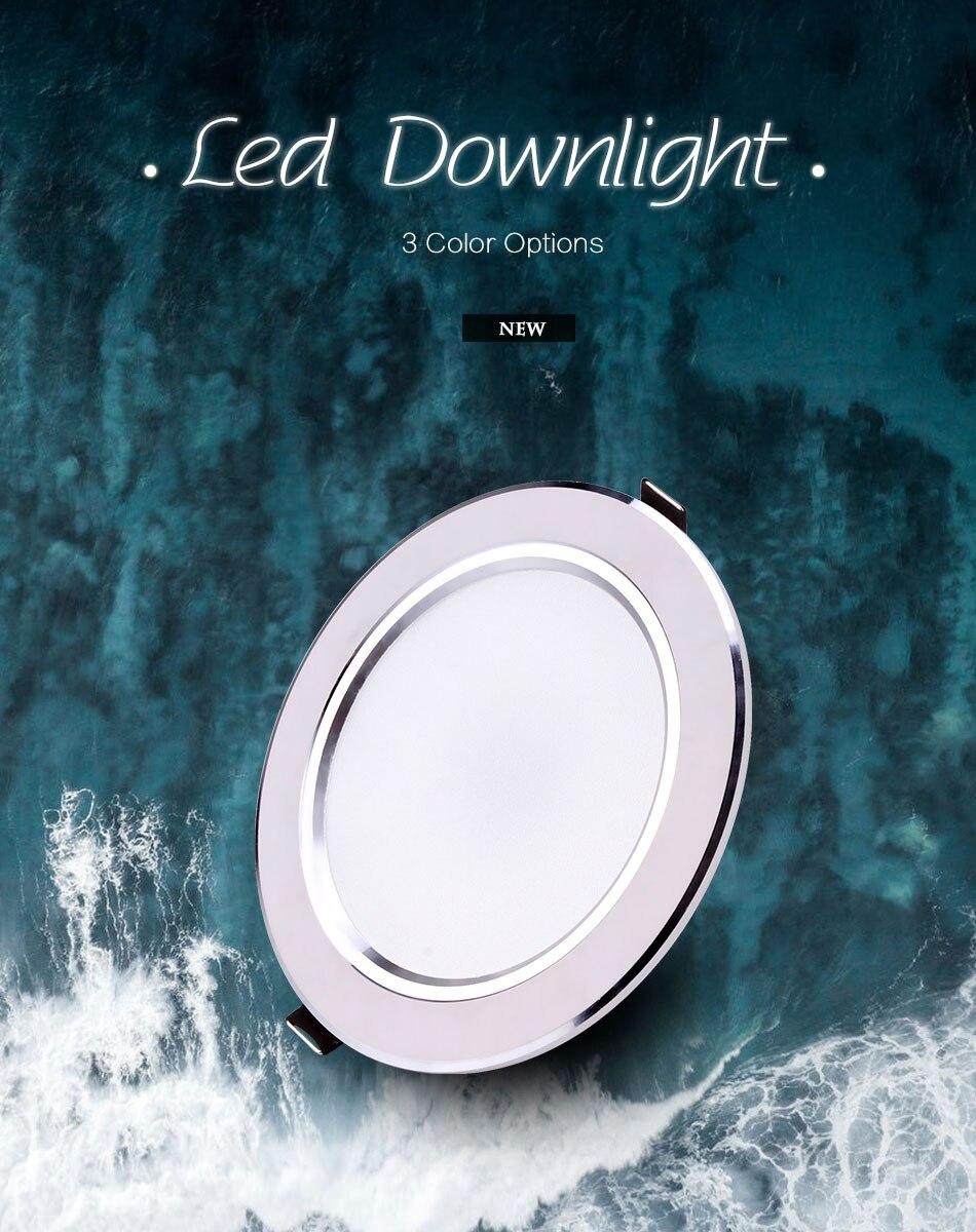 Светодиодный светильник 3 Вт, 5 Вт, 7 Вт, 9 Вт, 12 Вт, 15 Вт, Круглый встраиваемый светильник 220 В, 230 В, 240 в, 110 В, домашний декор, спальня, кухня, внутреннее точечное освещение