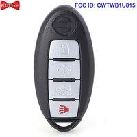 KEYECU for Nissan Sentra Versa 2013 2014 2015 2016 Smart Remote Key Fob 315MHz FCC ID: CWTWB1U815 PCF7952 ID46 Chip