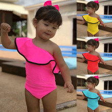 Kobiety 2020 Sexy jednoczęściowy strój kąpielowy maluch dziewczynek wzburzyć jednokolorowy strój kąpielowy kombinezon stroje kąpielowe strój kąpielowy strój kąpielowy strój kąpielowy tanie tanio MUQGEW Poliester Pasuje większy niż zwykle proszę sprawdzić ten sklep jest dobór informacji Stałe Dziecko dziewczyny