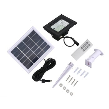 ABS Border Solar Panel Garden LED Light Outdoor Waterproof Solar Panel 42/64 lamp beads LED Light Intelligent Remote Control