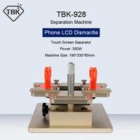 TBK-928 tela de toque lcd desmontar a máquina da separação da estrutura do separador para a tela do telefone de samsung precisamente reparo ajustar