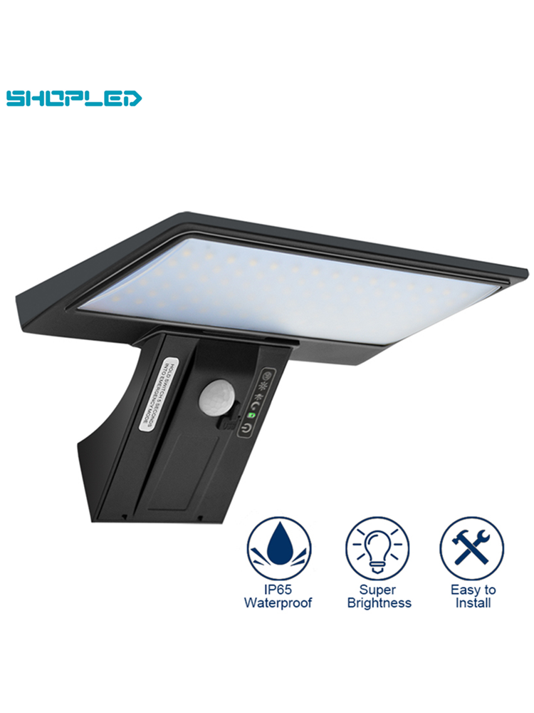 SHOPLED Solar-Light Lampara-Motion-Sensor Garden-Decoration Powered IP65 Outdoor Waterproof