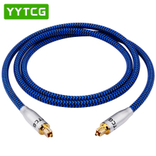 YYTCG Digital Optical Audio Cable Toslink SPDIF Coaxial