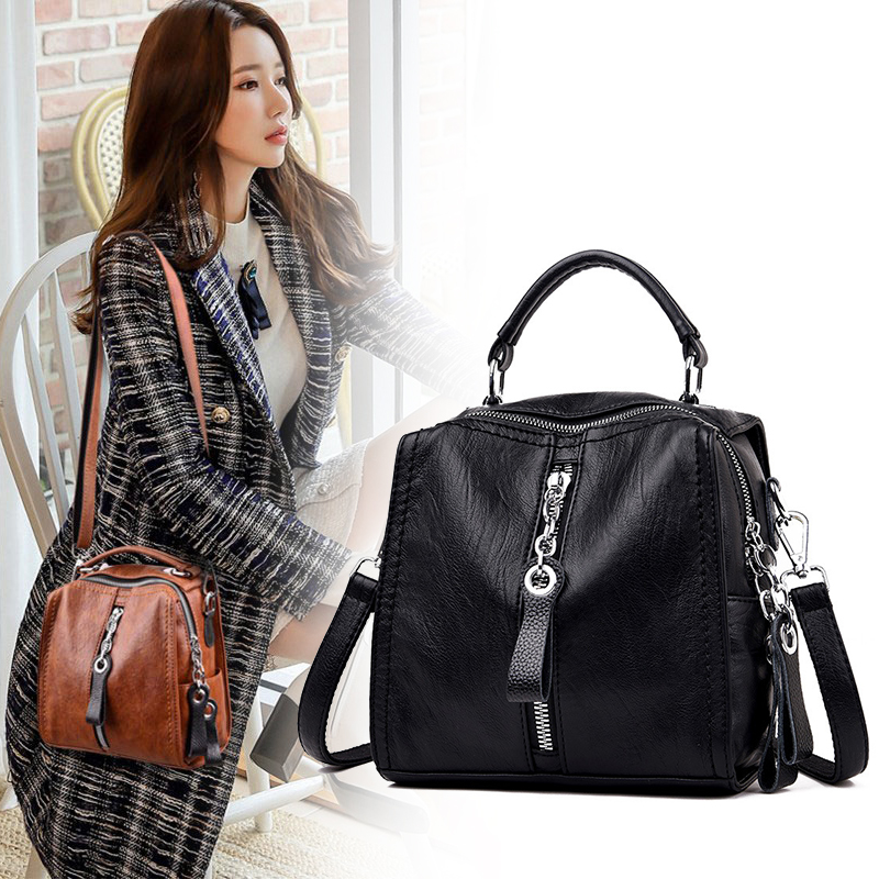 Women Bag 2020 Trend Fashion Brand Top Quality Crossbody Bags For Documents ZDG Red Bag Female