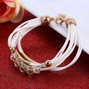 Fashion Multilayer Bracelet for Women Bracelets Jewelry Women Jewelry Metal Color: SL922