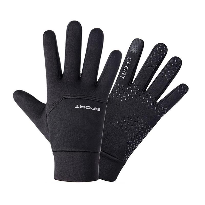 Winter Ski Plus Velvet Thick Warm Riding Gloves Men Women Windproof Waterproof Screen Outdoor Sports Non-Slip Gloves 4.0