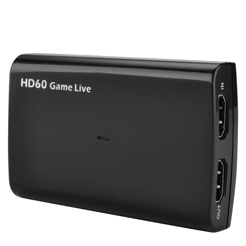 USB 3.0 HDMI Game Capture Card Full HD 1080p 60FPS Video To Live Streaming