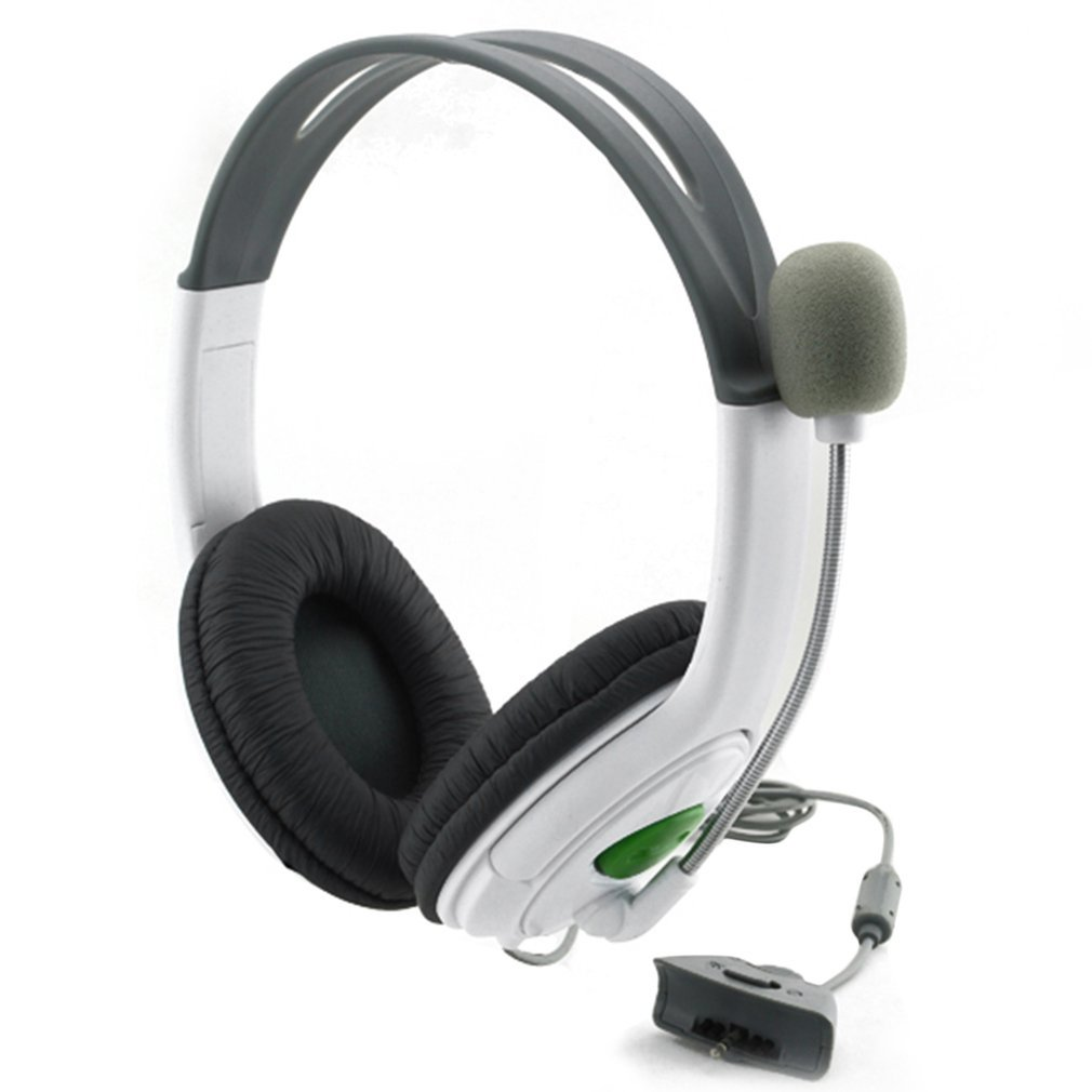 Gaming Headset With Adjustable Microphone For Xbox 360 Noise Cancelling Game Headphone Durable Stereo Earphones