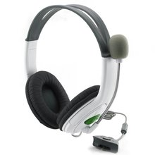 Gaming Headset With Adjustable Microphone For Xbox 360 Noise Cancelling Game