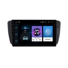 Radio Multimedia con GPS para coche, Radio con reproductor, Android, 2 Din, con marco, para Seat Ibiza 6j, 2009-2013, 9 pulgadas