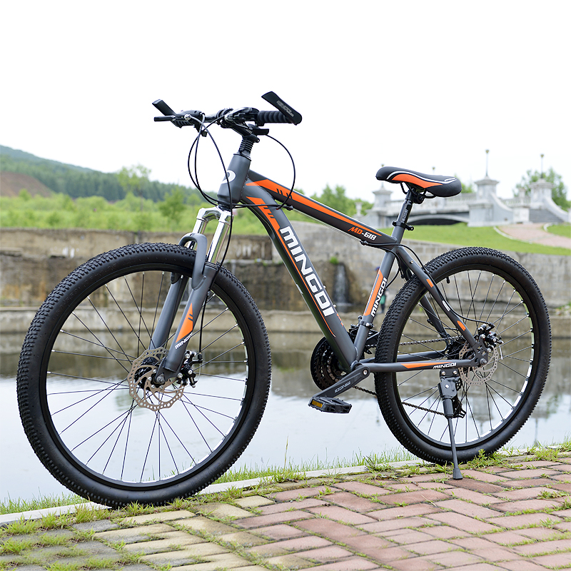 Mountain bike 24 speed mechanical disc brakes 26 inch variable speed - Cycling