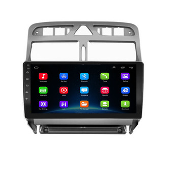 4G RAM 32G ROM Android 10.0 4G lte Car DVD Player GPS Navigation Multimedia For peugeot 307 Radio 2004-2013 2.5D IPS screen DSP image