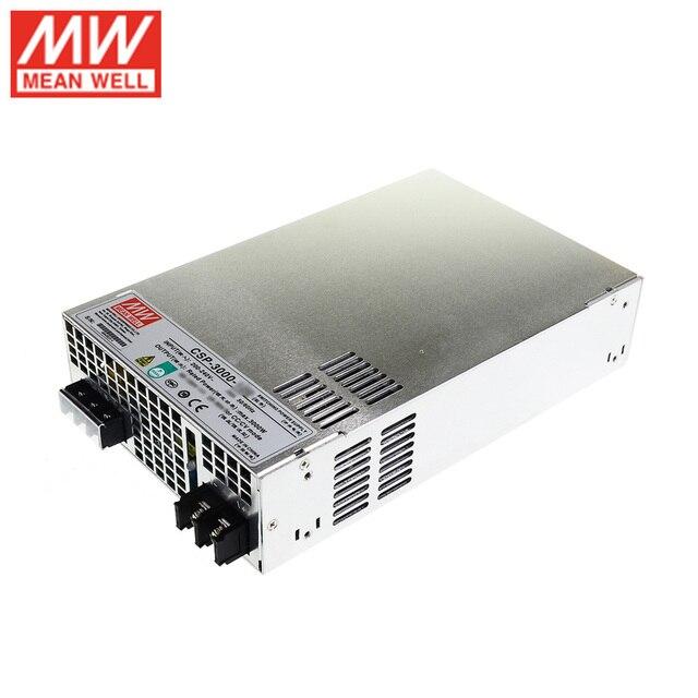 의미 잘 CSP 3000 400 프로그래밍 가능한 전원 공급 장치 3kw 400 v dc 7.5a 3000 w meanwell 전원 장치 변압기 병렬 연결