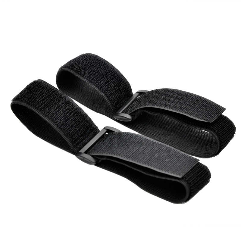 Tùy Chỉnh Thun Ngược Khóa Velcros Magic Nylon Thun Móc Vòng Dây Cáp Velcroing Dây Dính Chắc Băng Buộc