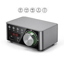 Мини TPA3116 усилитель мощности Bluetooth 5,0 приемник стерео для дома автомобиля Аудио Amp USB U диск 100 Вт музыкальный плеер