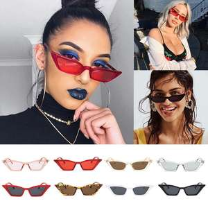 Retro Sunglasses Fashion Shades Eyewear Cat-Eye Outdoor Women Small Girls New
