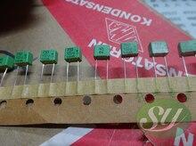 10 sztuk zielony WIMA FKP2 seria 0.00075uF/100V 2.5% 5MM fkp 2 0.75nf 100v 750pf 751 nowy film audio kondensator 751/100v 750p