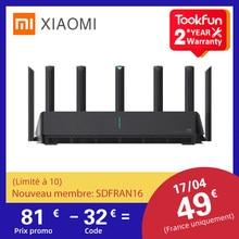 2021 xiaomi ax3600 aiot roteador wifi 6 dupla-faixa 2976mbs gigabit taxa de criptografia de segurança malha wi-fi amplificador de sinal externo