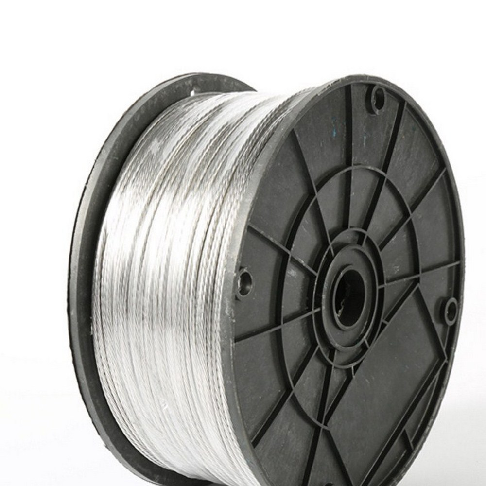 2.0mm 100m Electric Fence Wire Many 1.8 Strands Aluminum Magnesium Alloy Wire For Electronic Fence High Voltage Pulse Power Line
