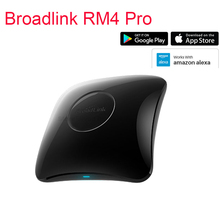 Broadlink RM4 PRO Broadlink RM4, 스마트 홈 오토메이션 WiFi IR RF 범용 리모컨은 Alexa Google 홈과 함께 작동합니다.