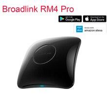 Broadlink RM4 PRO Broadlink RM4, универсальный пульт дистанционного управления для автоматизации умного дома, Wi Fi, ИК, RF, работает с Alexa Google Home