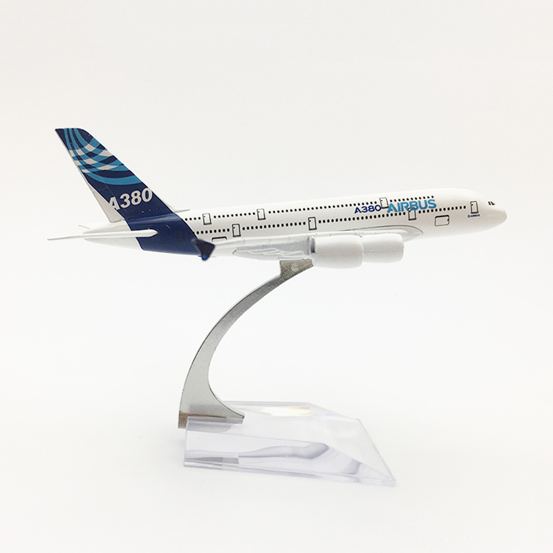 1/400 Metal Airplane Model Airbus A320 A380 Air Passenger Plane Model Diecast Children Aircraft Airbus Collections Gift Toys image