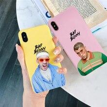 Yo Perreo Sola conejito malo chocolate teléfono caso para iPhone 7 7 6 6s Plus X 7 8plus XS XR XSMAX 11pro