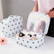 Hoomall Zipper Travel Wash Pouch Toiletry Travel Storage Bag Mini Casual Portable Cosmetic Bag Waterproof Makeup Organizer(China)