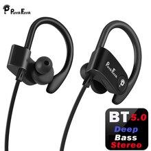 PunnkFunnk Bluetooth наушники; Беспроводные наушники; bluetooth 5,0; Спортивные наушники с шумоподавлением; Глубокие стереонаушники/микрофон для iphone, samsung