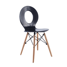 купить Modern Solid Wood ABS Plastic Chair Dining Chairs for Dining Rooms Home Restaurant Bedroom Study KitchenABS Plastic Dining Chair дешево