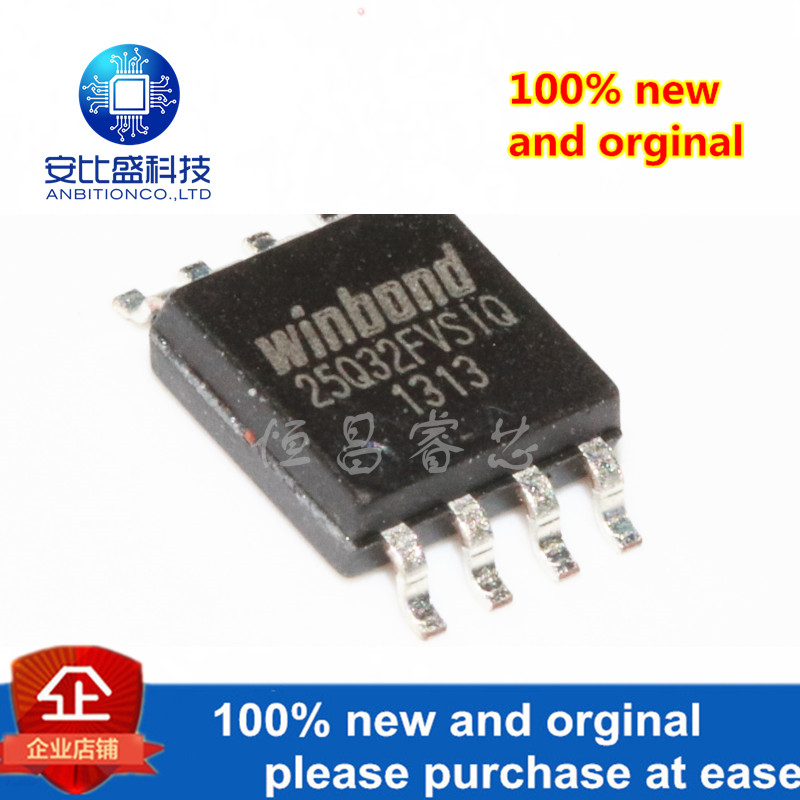 5pcs 100% New And Orginal W25Q32FVSSIQ Silk-screen 25Q32FVSIQ 32Mbits SOP8 In Stock