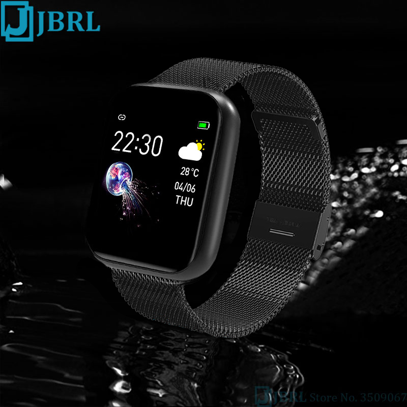Sport Silicone Smart Watch Women Men Smartwatch For Android IOS Waterproof Fitness Tracker Bluetooth Electronics Smart Clock