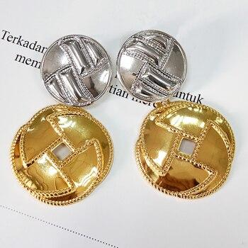 Mirafeel grandes pendientes de botón pendientes largos para mujeres alta calidad nuevos accesorios de moda de la joyería para chica joven Sexy