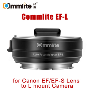 Image 1 - Commlite EF L AF Lens Adapter for Canon EF EF S SIGMA Lens to Leica Panasonic L mount Camera Auto Focus Lens Adapter Ring