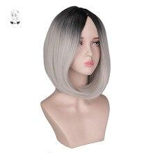 WHIMSICAL W Short Bob Hair Wigs 12