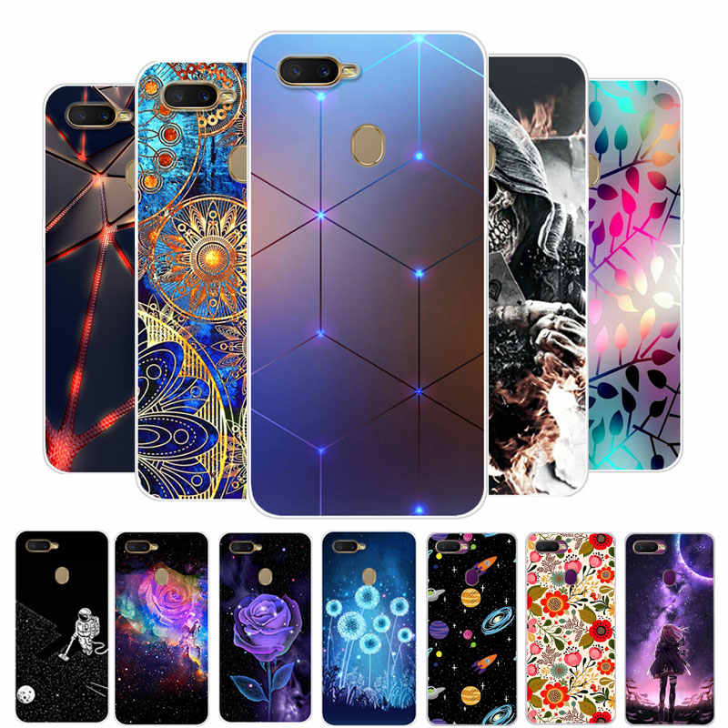 For OPPO A5S Case OPPO AX5S Case Silicone TPU Soft Back Cover phone case For OPPO A5S A 5S A5 S CPH1909 OPPOA5S Clear Bumper