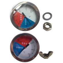Kuchnia duża tarcza termometr piekarnika temperatura gotowania Gauge dla Grill piekarnik Grill żywności mięso pieczenia miernik tanie tanio OOTDTY CN (pochodzenie) Oven Thermometer Piekarnik termometry Gospodarstw domowych termometry Metal Skala