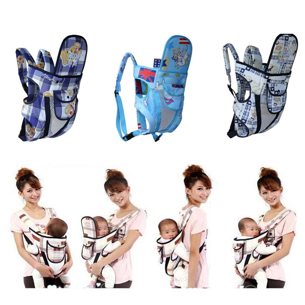 Kidlove Baby Cute Cartoon Multifunctional Double Belt Backpack Baby Carrier for All Seasons|Backpacks & Carriers| |  -