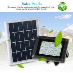 Na zewnątrz światła bezpieczeństwa led zasilane energią słoneczną reflektor 54 LED światła słonecznego IP65 wodoodporna światło halogenowe dla domu ogród trawnik